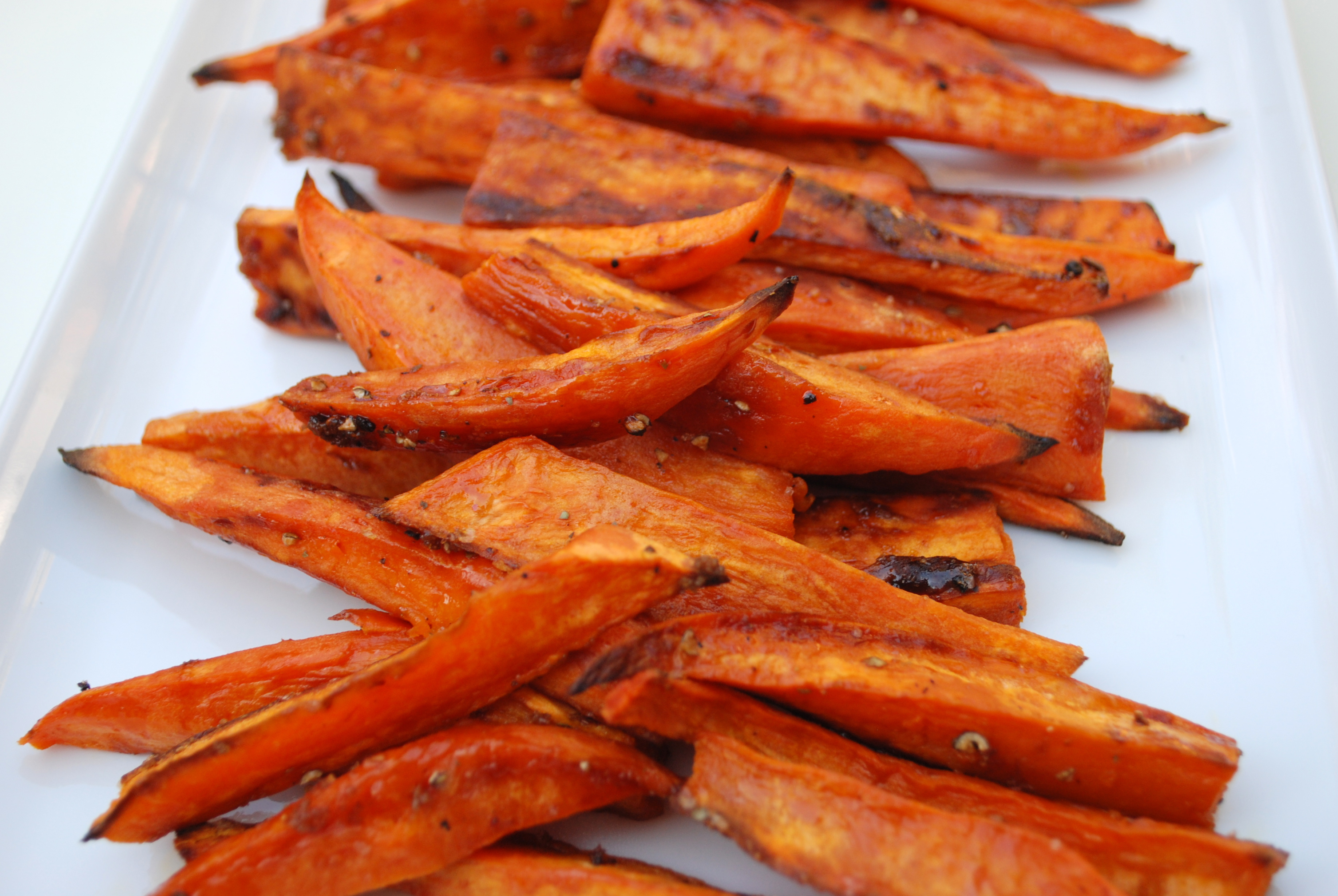 "Baked Sweet Potato ""Fries"" 