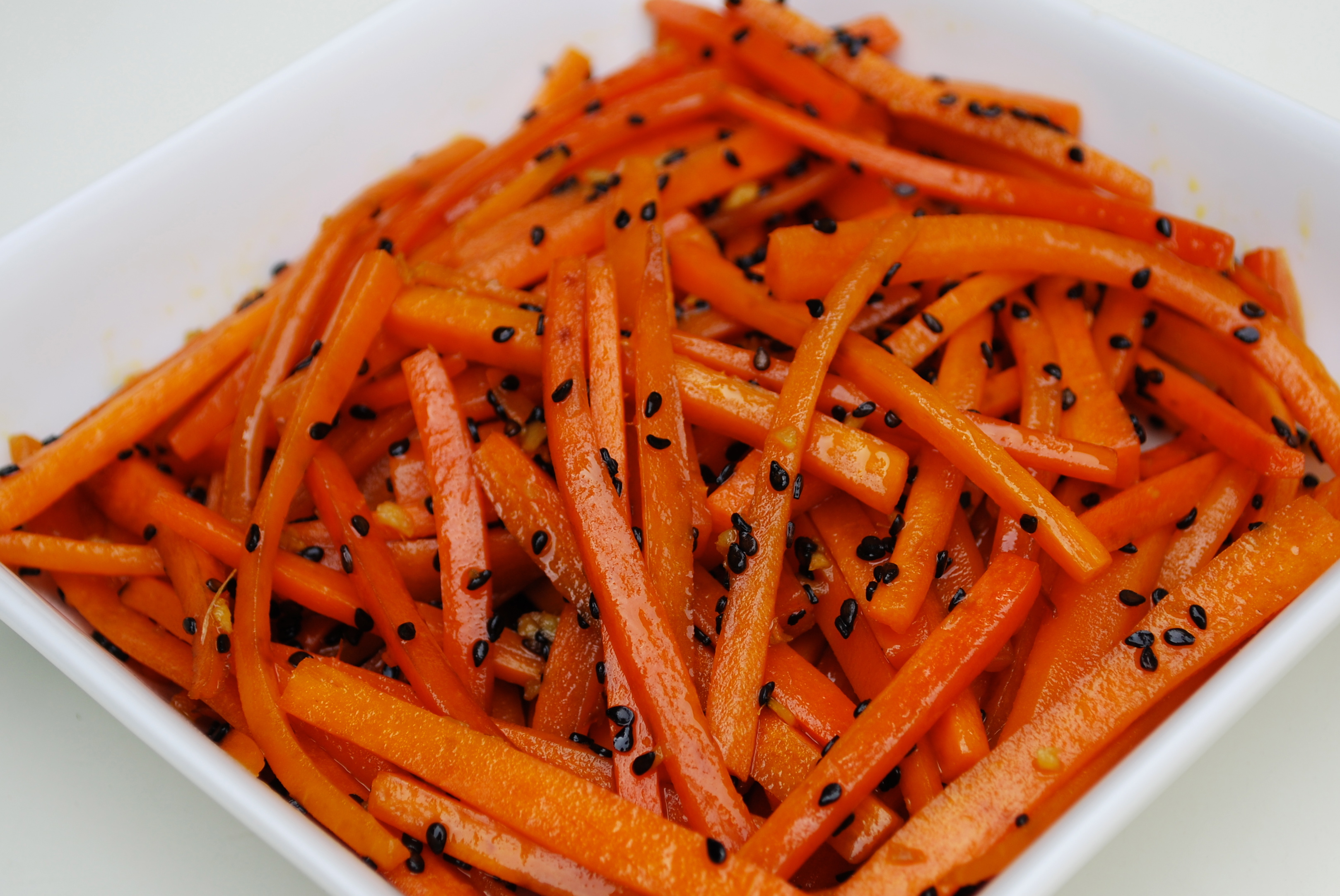 Gwyneth Paltrow Pantry Carrots With Black Sesame Amp Ginger Time To Cook