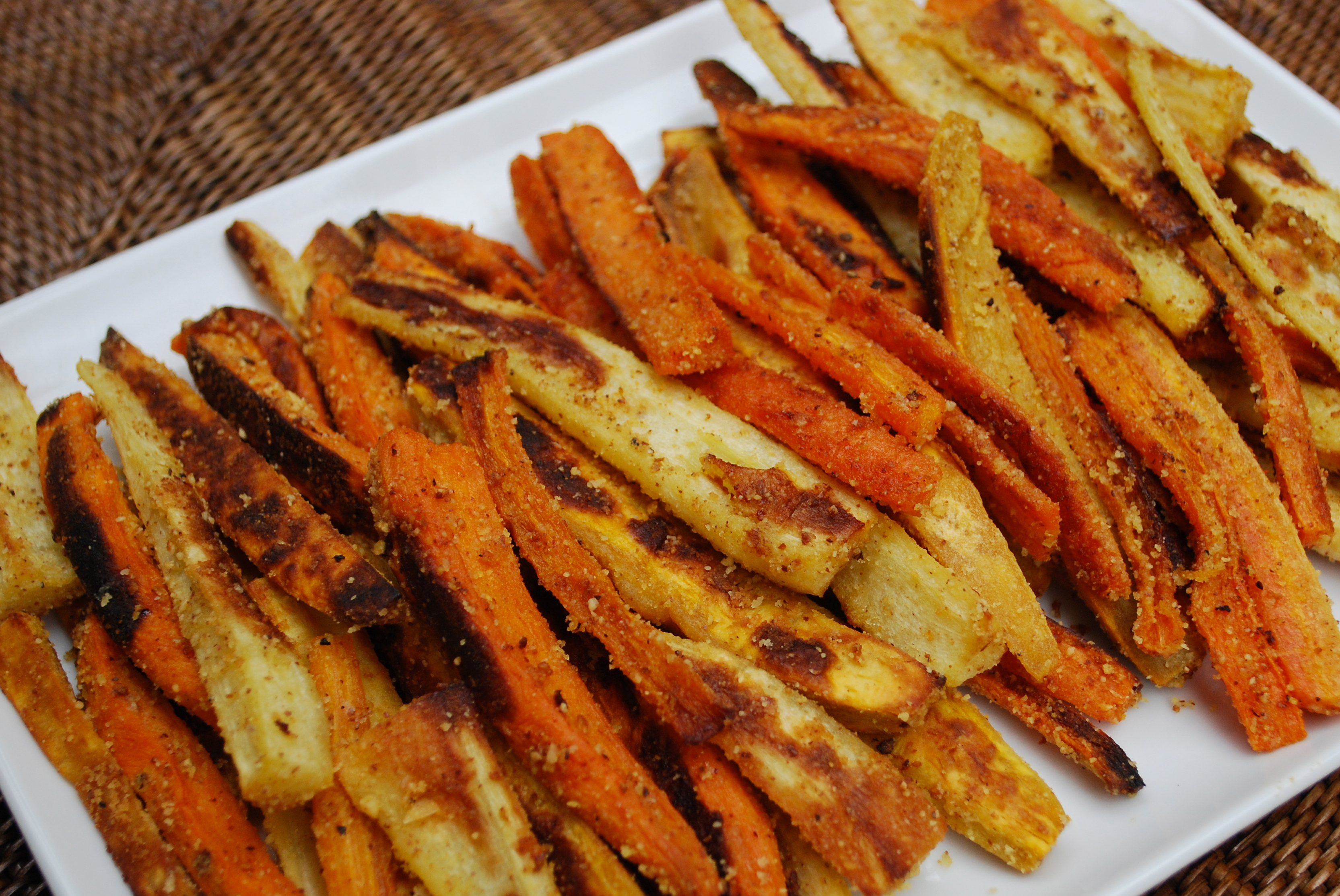 Baked Vegetable Fries | Time to Cook!