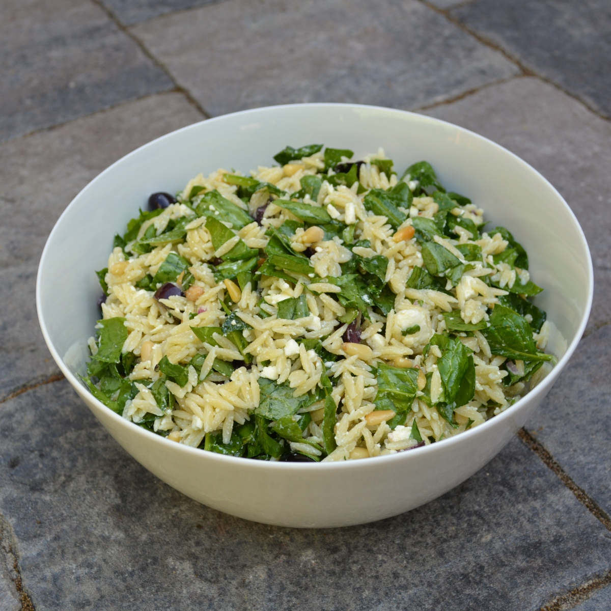 Orzo and Spinach Salad | Time to Cook!
